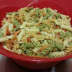 Garden Pasta Salad #DAYTONADAY #DAYTONA500 #AllstarsNASCAR #ad #AllrecipesAllstars #MyAllrecipes