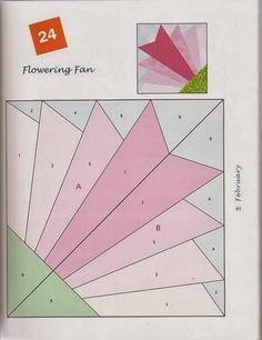 Artesanato diversão e prazer: Molde de foundation em patchwork