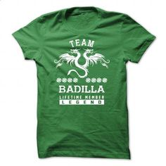 [SPECIAL] BADILLA Life time member - #tee aufbewahrung #long sweater. I WANT THIS => https://www.sunfrog.com/Names/[SPECIAL]-BADILLA-Life-time-member-Green-50055667-Guys.html?68278