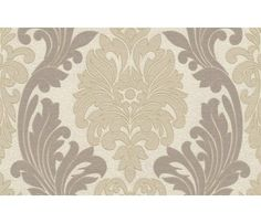 BEAUTIFUL FLORAL DAMASK WALLPAPER WITH SUBTLE GLITTER