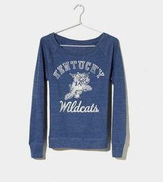 Kentucky Vintage Raglan T-Shirt sooo so soso cute i like this one better then the other one !