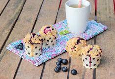 CAMELIE: Muffins crousti-moelleux aux myrtilles