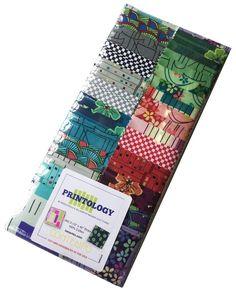 Benartex Printology Precut 5-inch Charm Pack Cotton Fabric Quilting Squares Assortment