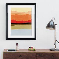 Orange Landscape 1 Print - alt_image_three