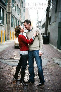 Engagement pic idea. Like background