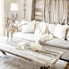This is absolutely stunning, but I don't know if I could do that much white! I feel like it would be difficult to keep clean