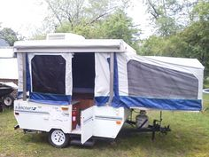 tent trailers trailers and tent on pinterest. Black Bedroom Furniture Sets. Home Design Ideas