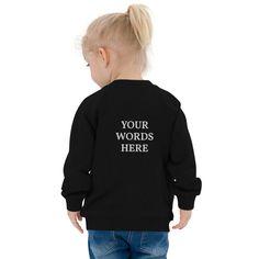 CUSTOM Embroidered Unisex Baby Organic Bomber Jacket, Custom Baby Shower Gift