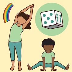 With a blend of yoga, breathing and fun, the Roll the Dice Yoga Game is an entertaining way to teach your students yoga and breathing and to test their memory. This instructional packet gives you the tools and instructions to play this game and with your expertise, adapt the rules to suit yo
