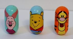 Disney Theme Park Winnie The Pooh & Friends+Tigger&Piglet  Wobbles  FreeShipping #Disney