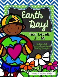 : CCSS Aligned Leveled Reading Passages and Activities Level J-M Earth Day Information, Leveled Reading Passages, Earth Day Tips, Small Group Reading, Vocabulary Cards, Reading Levels, Walking In Nature, Small Groups, Teaching Resources
