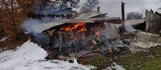 Χάος παντού! Τεράστια οικονομική καταστροφή για τον κτηνοτρόφο! Λαθρομετάναστες έβαλαν φωτιά – Στάχτη το ποιμνιοστάσιο (ΦΩΤΟ) – Makeleio.gr Train, Vehicles, Car, Strollers, Vehicle, Tools