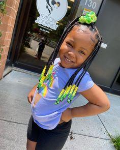 Toddler Braided Hairstyles, Toddler Braids, Cute Little Girl Hairstyles, Little Girl Braids, Cute Little Girls Outfits, Natural Hairstyles For Kids, Baby Girl Hairstyles, Braids For Kids, Toddler Hair