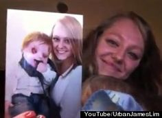 A young mother has made a touching video about the love of her life: her son. In the clip originally posted on GodTube, Lacey Buchanan displays a series of flashcards that tell her experience in dealing with stares, snide remarks and questions about her son's looks.