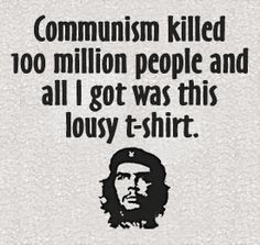 Comunismo, el modelo cubano, el uso tonto del che Guevara y otros mitos.