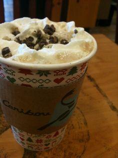 Caribou Coffee Campfire Mocha Coffee - Yum!