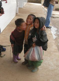 (orphan boys in E Asia) The African Asian Business and Cultural Exchange believes in adoption.  I support it.