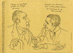 Borges y Arreola en México 1978
