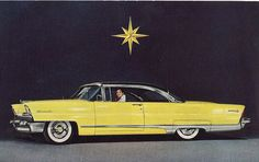 "1956 LINCOLN PREMIERE... I want this as my ""drive away"" car"