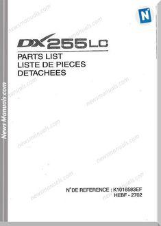Bobcat 331, 331E, 334 (G-Series) Excavator Parts Manual PDF