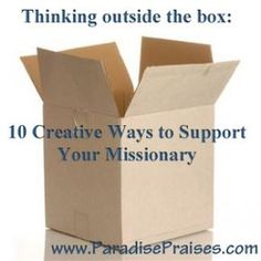 Creative support for missionaries: 10 care package alternatives Missionary Care Packages, Missionary Gifts, Missionary Letters, Missionary Girlfriend, Sister Missionaries, Spiritual Church, Lds Mission, Lds Church, How To Introduce Yourself