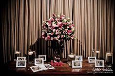 Decoração Rosa no Afrikan House, SP.