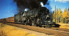 """... , Missabe & Iron Range 2-8-8-4 """"Yellowstone"""" Locomotives of the USA"""