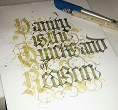 Calligraphy Vanity is the quicksand of reason Calligraphy Letters Alphabet, Calligraphy Artist, Calligraphy Tutorial, Calligraphy Words, How To Write Calligraphy, Lettering Tutorial, Typography Letters, Beautiful Lettering, Beautiful Calligraphy
