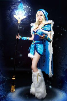 Crystal Maiden cosplay - DOTA 2