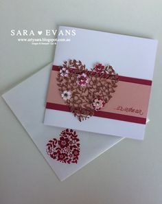 stampin up bloomin hearts - Google Search