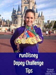 runDisney Dopey challenge tips for running all four races: The 5k, 10k, half marathon, and full marathon. Tips to make your race the best vacation ever!