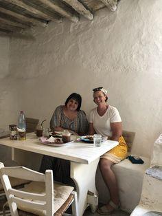 Wood Cafe, Mykonos, All Over The World, Medieval, Bakery, Desk, Furniture, Home Decor, Desktop