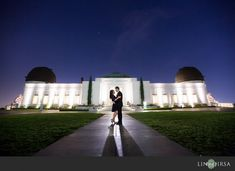 Griffith Observatory Los Angeles Engagement | Harrison and Ellen