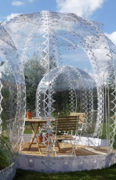 Pop-up cold-climate greenhouse could help revitalize urban spaces : TreeHugger