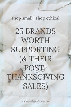 Shop Small, Shop Eth