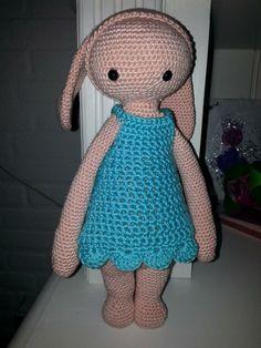 RITA the rabbit made by Anouchka D.-J. / crochet pattern by lalylala