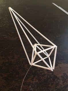 Innostu-Onnistut: Jättitähti -sisustushitti - OHJE Origami, Crafting, Christmas, Letters, Stars, Wood, Xmas, Origami Paper, Crafts To Make