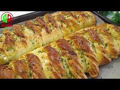 Corndog Recipe, Puff Pastry Recipes, Corn Dogs, Bread Recipes, Banana Bread, Picnic, Yummy Food, Baking, Desserts