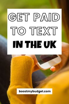Always on your mobile? Why not GET PAID TO TEXT UK!   get paid to text chat uk   get paid to answer text messages uk   get paid to text online uk   can i get paid to text   how to get paid to text   make money texting uk   Earn Extra Cash, Making Extra Cash, Extra Money, Send Text Message, Text Messages, Way To Make Money, Make Money Online, Apps That Pay, Texting