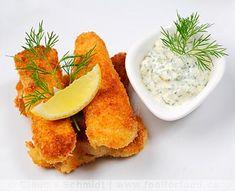 Rezept mit Bild für Fischstäbchen mit Remoulade