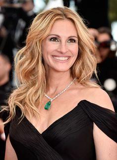Julia Roberts porte un magnifique collier de chez Chopard