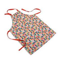 The Multi Stamp Apron brings fashionable flair to every kitchen experience.  Made of wonderfully soft 65670b214db