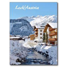 Shop Lech in Austria - Postcard created by stdjura. Alps, Austria, Switzerland, Mount Everest, Mountains, Photography, Travel, Outdoor, Voyage