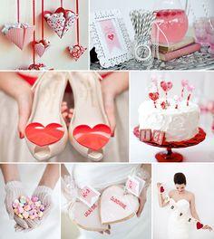 Valentine's Wedding? cute.