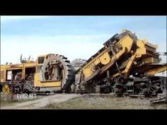 Amazing Railway Track Laying Machines - YouTube