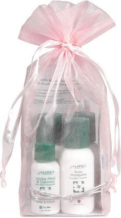 Aubrey Organics Rosa Mosqueta - Set per la Pelle Secca