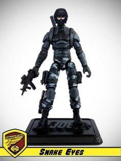 OG 13 :: Snake Eyes - G.I. Joe customs