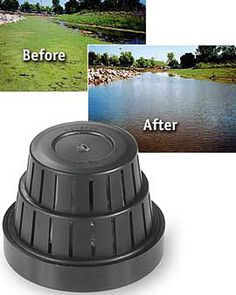 Submersible Dispenser Cleans Your Pond Invisibly