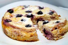 Воздушная диетическая запеканка без муки с вишней! - диетические пироги / диетические брауни - Полезные рецепты - Правильное питание или как правильно похудеть