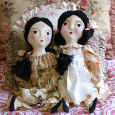 Sweetest cloth dolls!